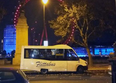 Flittabus in London