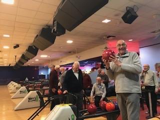 Men's Club go bowling